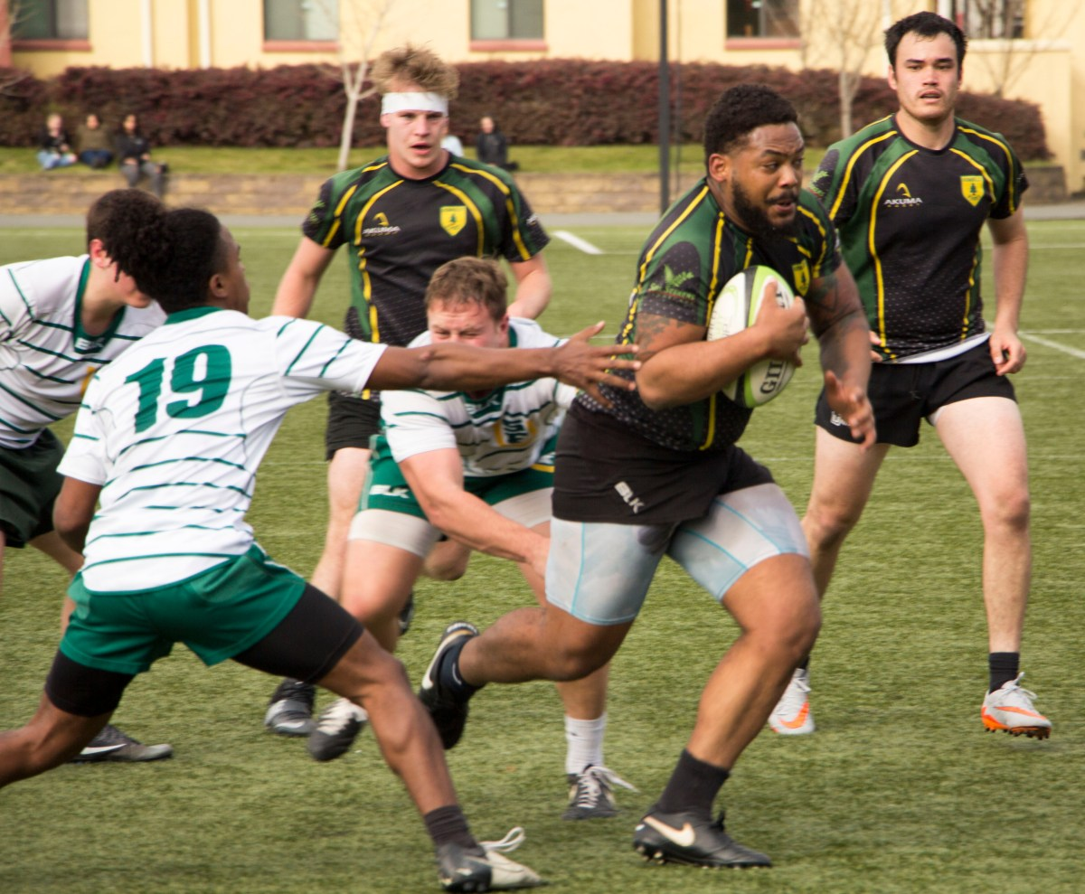 Jacks men's rugby dominates the turf